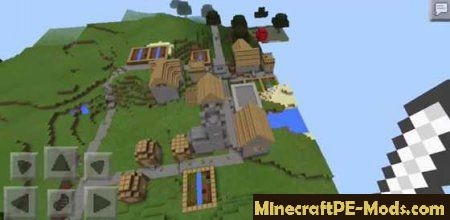 how to find your location in minecraft pe