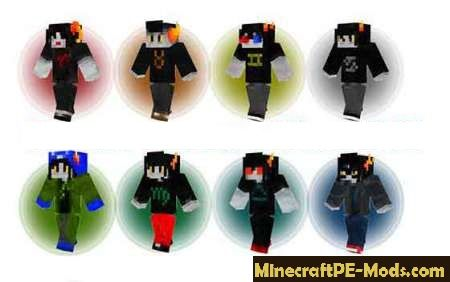 Epic Skins Superheroes For Minecraft PE Android - Skins para minecraft pe tablet