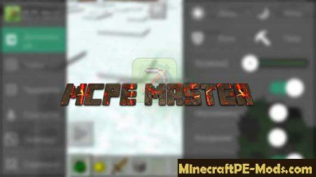 mcpe master download mod