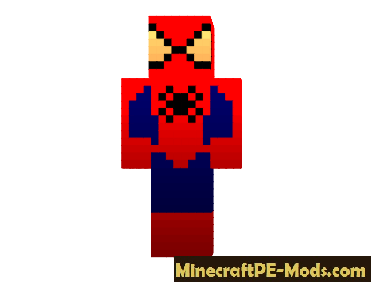 Skin Spider Man For Minecraft PE Android - Skins para minecraft pe de spiderman