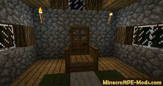 Super Chair Sitter 2000 Mod For MCPE 1 12 0, 1 11 1, 1 10 0 Download