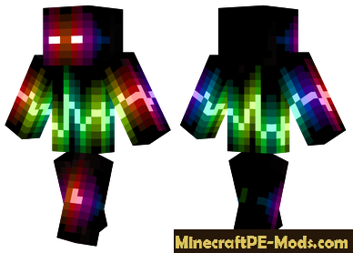 Skin Wave Monster For Minecraft PE Android