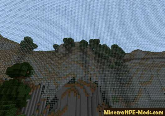 PvP-arena the Hunger games: catching fire MCPE 1.6.0, 1.5.3, 1.4.4 ...