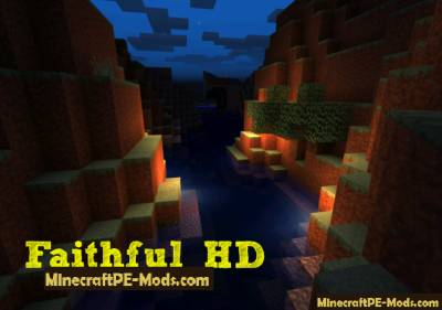 Faithful HD 32x32 Texture Pack For Minecraft PE 1.5.0, 1.4.0, 1.2.13