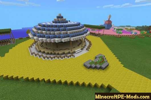 Disneyland Map For Minecraft PE Download - Disneyland map fur minecraft pe