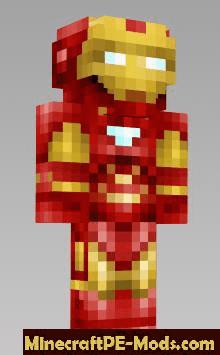Superheroes Skins Pack For Minecraft PE 1.16.210, 1.16.201