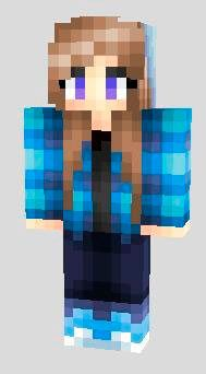 Cool girls skins pack for minecraft pe - Cool girl skins for minecraft pe ...