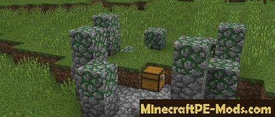 Ruins Mod For Minecraft PE 1.2.9, 1.2.8, 1.2.7, 1.2.6