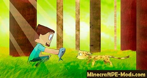 How to Minecraft PE to tame a cat? - Guides (FAQ) MCPE
