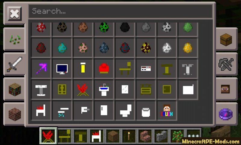 Minecraft Pe Furniture caueh ultilities addon for minecraft pe 1.2.1, 1.2.0, 1.1.5 download
