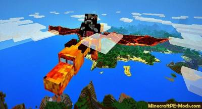 Dragon Mount Minecraft PE Mod 1.6.0, 1.5.0, 1.4.4