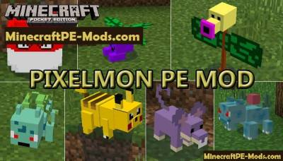 Pixelmon Mod For Minecraft PE