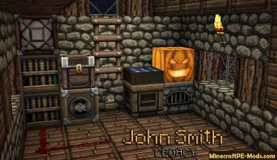 John Smith Legacy Texture Pack For Minecraft PE 1.2.9, 1.2.8