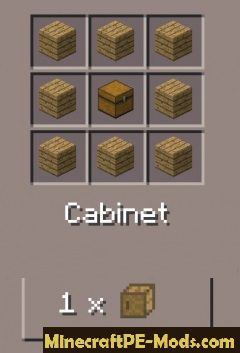 Pocket Decoration Minecraft PE Mod 1.2.7, 1.2.6, 1.2.3, 1.2.0