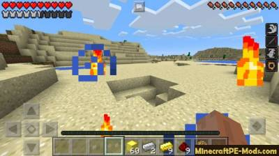 The Flash Minecraft PE Mod 1.2.0, 1.1.5, 1.1.4, 1.1.3, 1.0.0