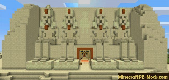Tomb Crafter 2 Egypt Map For Minecraft Pe 1 2 10 1 2 9