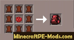 Backpacks Mod For Minecraft PE 1.2.0, 1.1.5, 1.1.4, 1.0.0