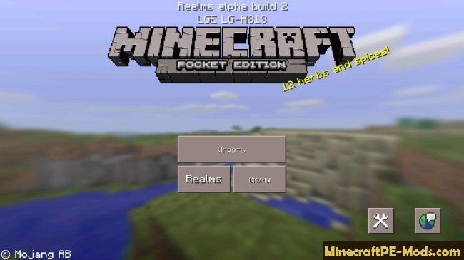 Download Minecraft Pe 0 15 0 Realms Alpha Build 2 For Android