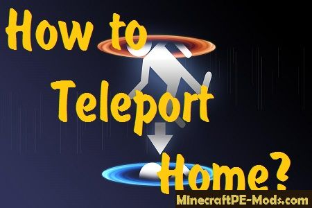 How To Teleport Home In Minecraft PE Guides FAQ MCPE - Minecraft teleport player to