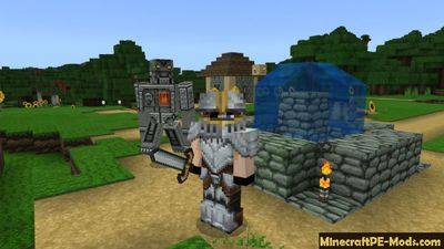 Dokucraft Light 32x Minecraft PE Texture Pack iOS/Android 1.12, 1.11