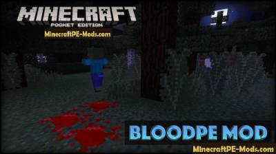 BloodPE Mod For Minecraft PE