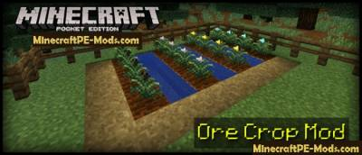 Ore Crop Mod For Minecraft PE