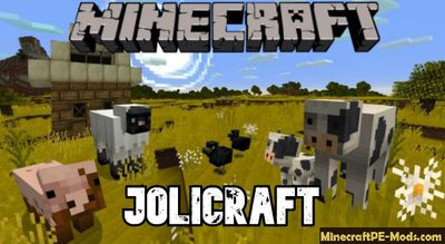 Jolicraft 16x Texture / Resource pack for Minecraft PE 1.13, 1.12.1