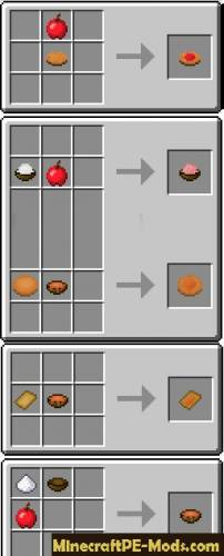 Useful Food MCPE Mod 1.0.6, 1.0.4.11, 1.0.4.1, 1.0.4, 1.0.0