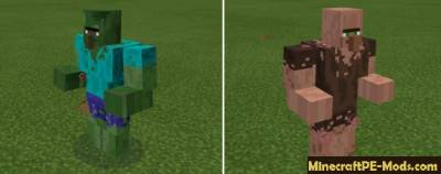 More Mutant Creatures Minecraft PE Mod 1.1.0, 1.0.9, 1.0.8, 1.0.7